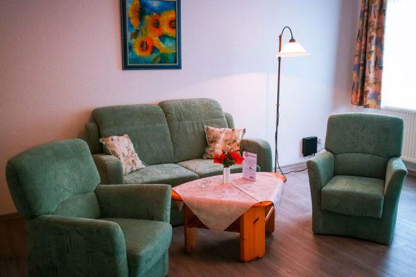 2-Raum-Appartements vom Feriendomizil in Binz auf Rügen