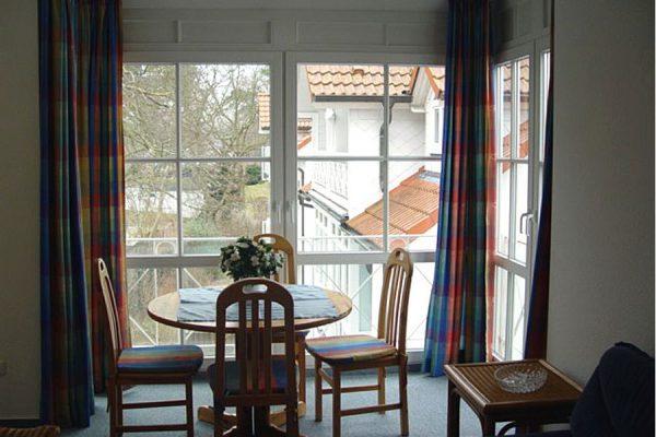 3-Raum-Ferienwohnung mit Balkon in Binz auf Rügen