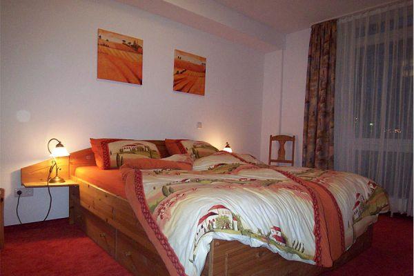 Schlafzimmer vom 3-Raum-Apartment in Binz auf Rügen